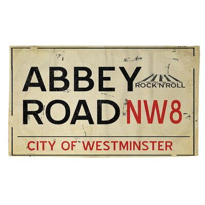 Abbey Road Area Rug Rug Size: 2 x 3