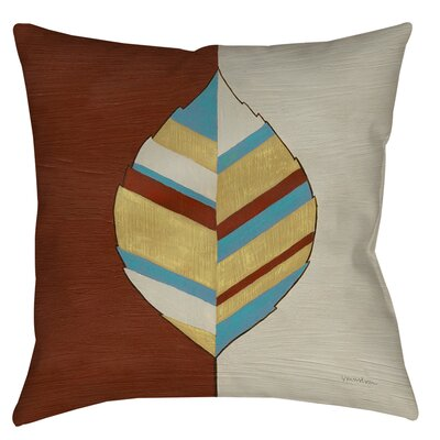 Apache Leaf 1 Printed Throw Pillow Size: 26 H x 26 W x 7 D
