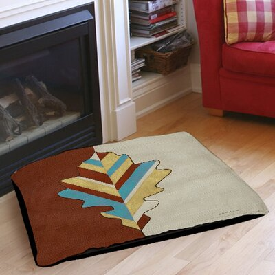 Apache Leaf 4 Pet Bed Size: 40 L x 30 W