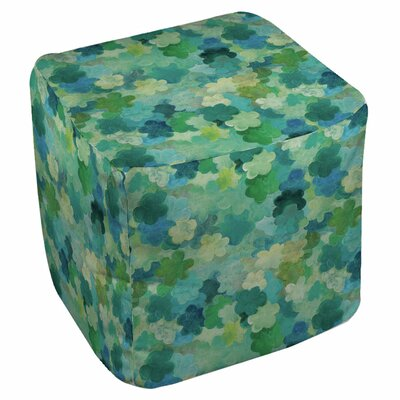 Aqua Bloom Water Blends Ottoman