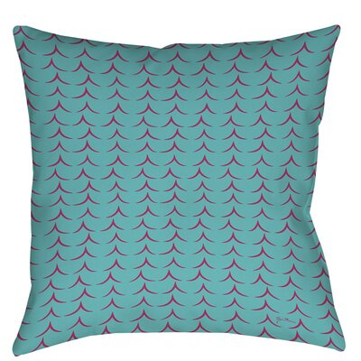 Banias Teepee Printed Throw Pillow Size: 18 H x 18 W x 5 D