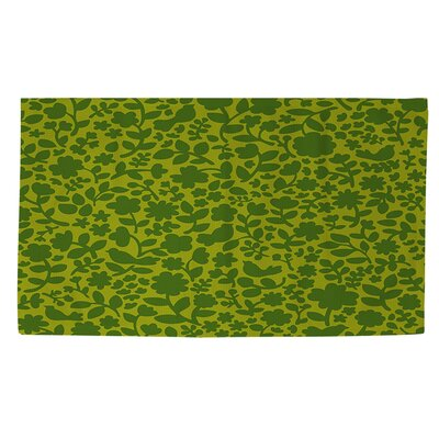 Ambrose Green Area Rug Rug Size: 4 x 6
