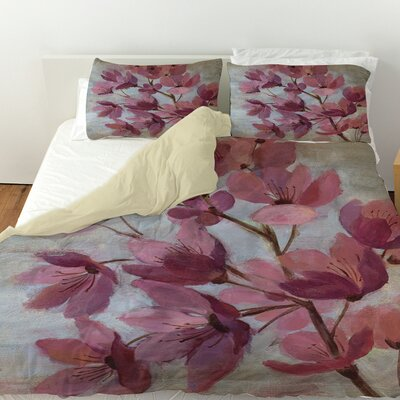 April Blooms 1 Duvet Cover Size: Queen