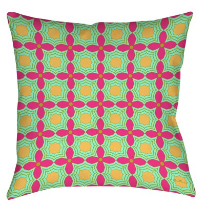 Anima 2 Star Printed Throw Pillow Size: 14 H x 14 W x 3 D