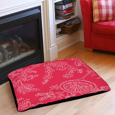 Anima Outline Pet Bed Size: 50 L x 40 W