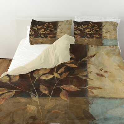 Autumn Texture 1 Duvet Cover Size: King