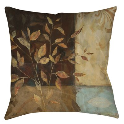 Autumn Texture 1 Indoor/Outdoor Throw Pillow Size: 18 H x 18 W x 5 D