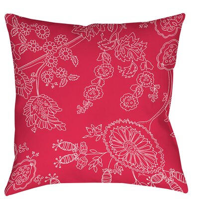 Anima Outline Printed Throw Pillow Size: 26 H x 26 W x 7 D