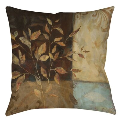 Autumn Texture 1 Printed Throw Pillow Size: 26 H x 26 W x 7 D