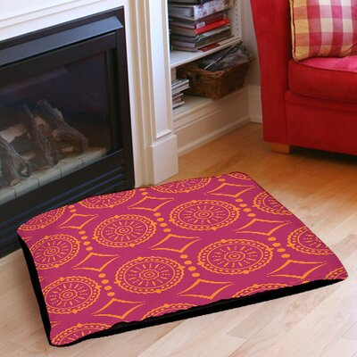 Banias Medallion Pet Bed Size: 50 L x 40 W