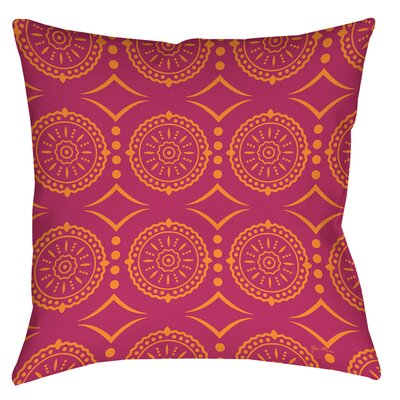 Banias Medallion Printed Throw Pillow Size: 26