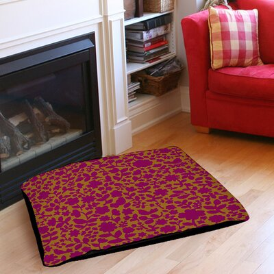 Ambrose Bird Pet Bed Size: 40 L x 30 W, Color: Fuchsia