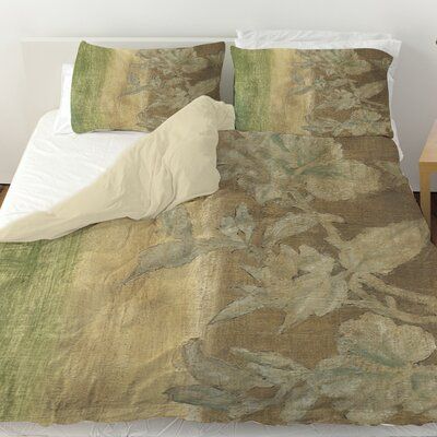Antique 2 Duvet Cover Size: Queen