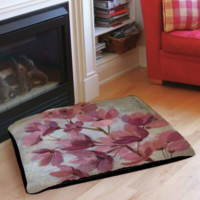 April Blooms 1 Pet Bed Size: 40 L x 30 W
