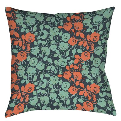 Anna Rose 5 Printed Throw Pillow Size: 16 H x 16 W x 4 D