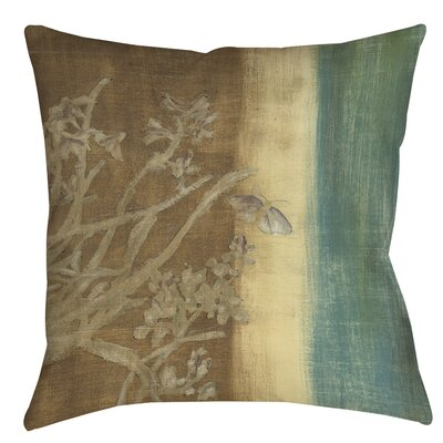 Analisa Floral Indoor/Outdoor Throw Pillow Size: 16 H x 16 W x 4 D