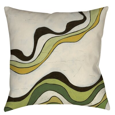 Bandeau 2 Indoor/Outdoor Throw Pillow Size: 18 H x 18 W x 5 D