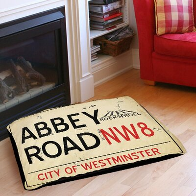 Abbey Road Pet Bed Size: 40 L x 30 W