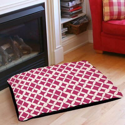 Banias Diamond Pet Bed Size: 28 L x 18 W