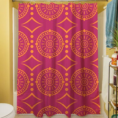 Banias Medallion Shower Curtain