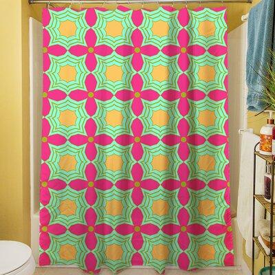 Anima Star II Shower Curtain