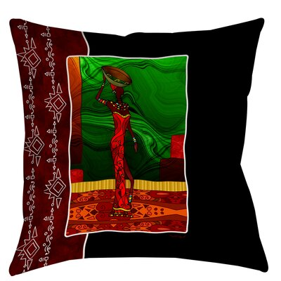 Sebrite Graphic Printed Throw Pillow Size: 16 H x 16 W x 4 D