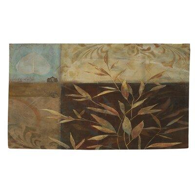 Autumn Texture 2 Area Rug Rug Size: 4 x 6