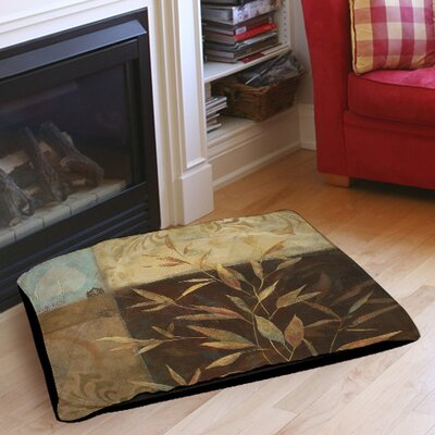 Autumn Texture 2 Pet Bed Size: 40 L x 30 W
