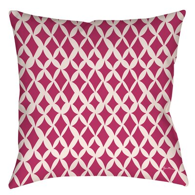 Banias Diamond Indoor/Outdoor Throw Pillow Size: 16 H x 16 W x 4 D