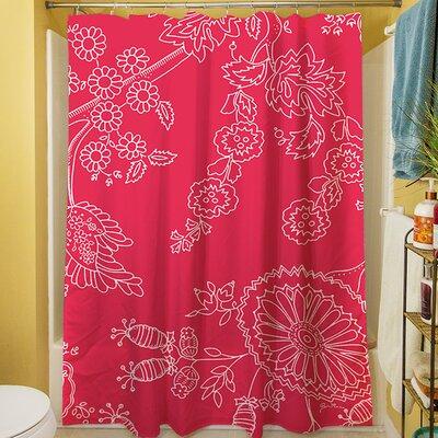 Anima Outline Shower Curtain