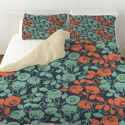 Anna Rose 5 Duvet Cover Size: Twin