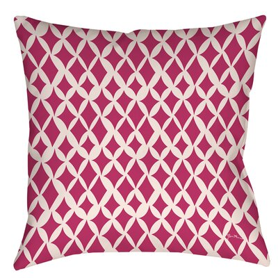 Banias Diamond Printed Throw Pillow Size: 14 H x 14 W x 3 D