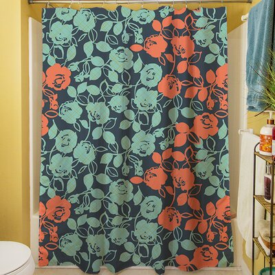 Anna Rose V Shower Curtain