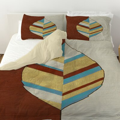 Apache Leaf 1 Duvet Cover Size: Twin