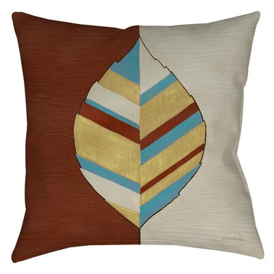 Apache Leaf 1 Indoor/Outdoor Throw Pillow Size: 18 H x 18 W x 5 D