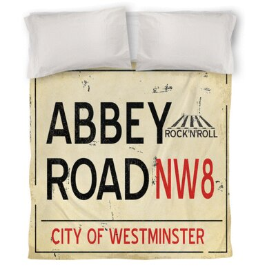 Abbey Road Duvet Cover Size: Twin