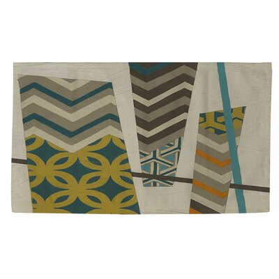 Abstract Scrapbook 1 Area Rug Rug Size: 2 x 3
