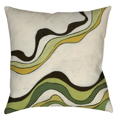 Bandeau 2 Printed Throw Pillow Size: 26 H x 26 W x 7 D