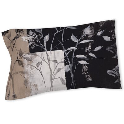 African Leaf Abstract Sham Size: Twin