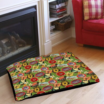 Aloha Pet Bed Size: 50 L x 40 W