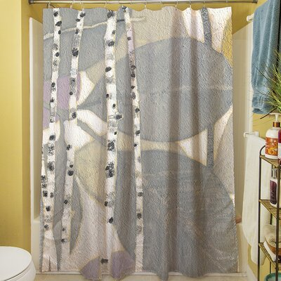 Birch Leaf II Shower Curtain