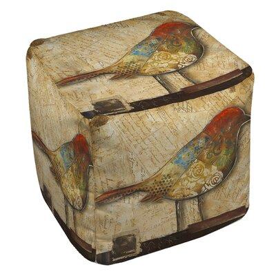 Square Bird Ottoman