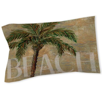 Beach Palm Sham Size: Twin