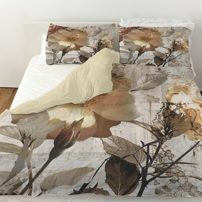 Blooming Days Duvet Cover Size: Twin