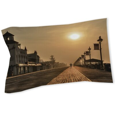 Boardwalk Sunrise Sham Size: Queen/King