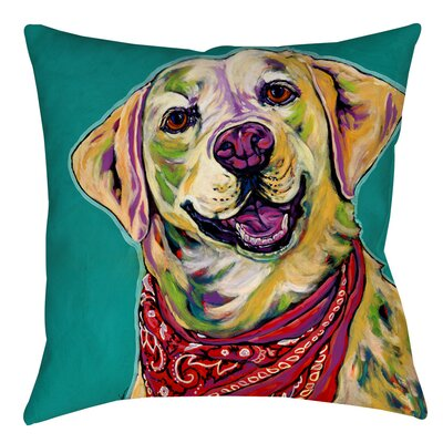 Boca Indoor/Outdoor Throw Pillow Size: 16 H x 16 W x 4 D