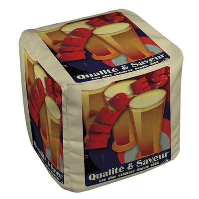 Bieres Qualite and Saveur Pouf