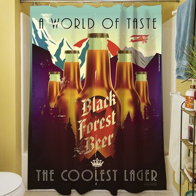 Black Forest Beer Shower Curtain