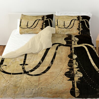 Chandelier 2 Duvet Cover Size: King