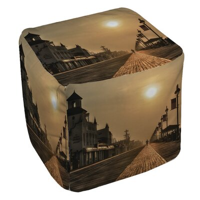 Boardwalk Sunrise Ottoman